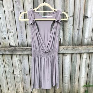 Kimchi Blue Urban Outfitters washable silk dress S